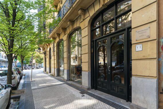 Piso en el centro Donostia edificio hormigon – 3